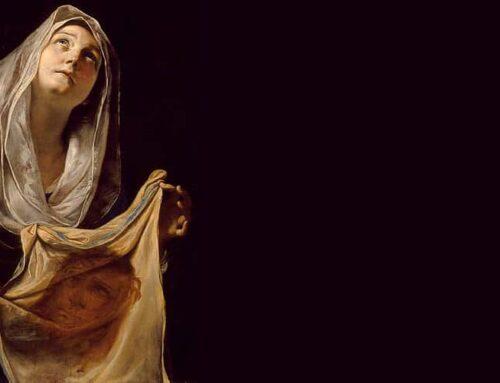 La mujer que limpió la cara de Jesús… ¿se llamaba Verónica?