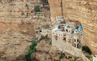 Monasterio de san Jorge Koziba - Desierto de Judea 1