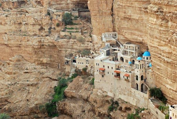 Monasterio de san Jorge Koziba - Desierto de Judea 2