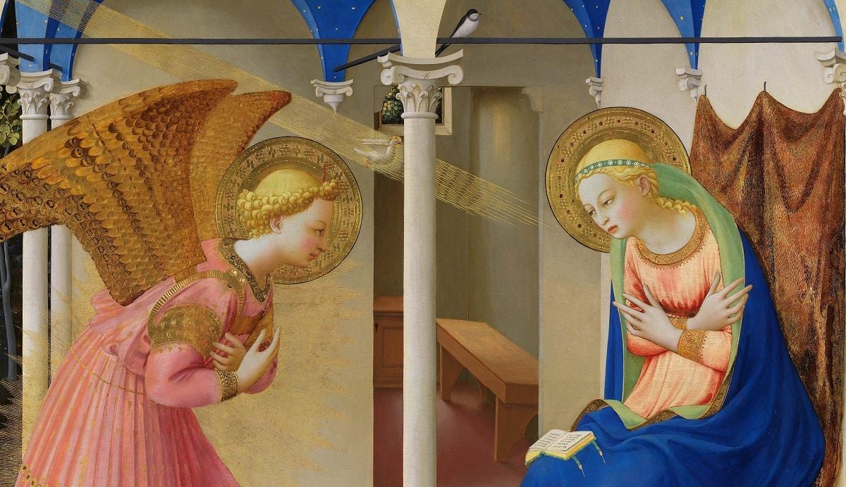 La Anunciación a la Virgen María - 25 de marzo 1