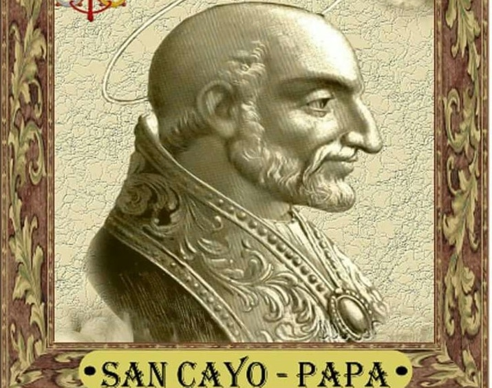 SAN CAYO, Papa y mártir - 22 de abril 1