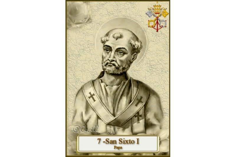 SAN SIXTO I, Papa y mártir (siglos I-II) - 3 de abril 1