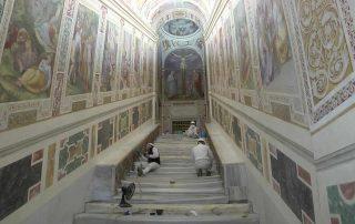 La Scala Santa mostrará los escalones originales que se veneran en su basílica 4