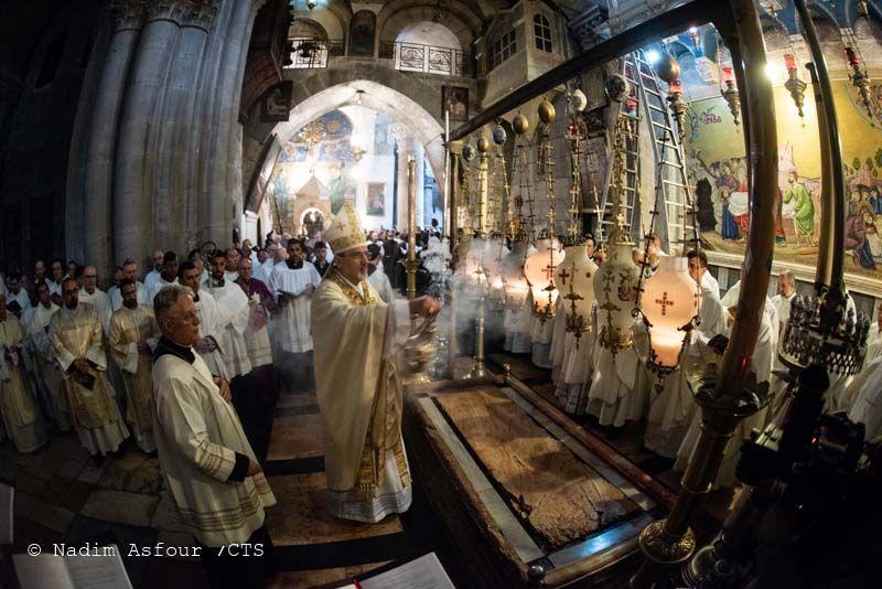 Triduo Pascual en Jerusalén: «No me acostumbraré nunca a vivir en contacto tan estrecho con la Resurrección» 1