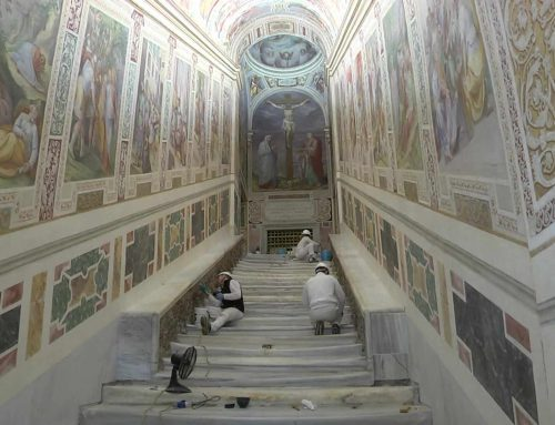 La Scala Santa mostrará los escalones originales que se veneran en su basílica