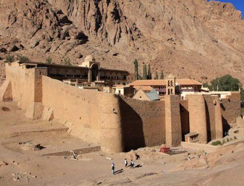 Guardados los manuscritos de Santa Catalina en el monte Sinaí gracias a una innovadora tecnología