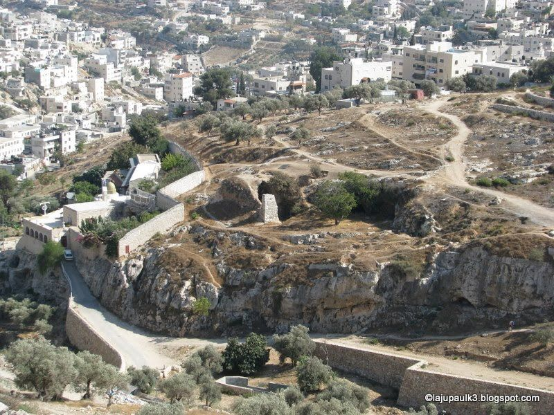 """""""Haceldama"""", Campo de sangre - Jerusalén. La traición de Judas 1"""