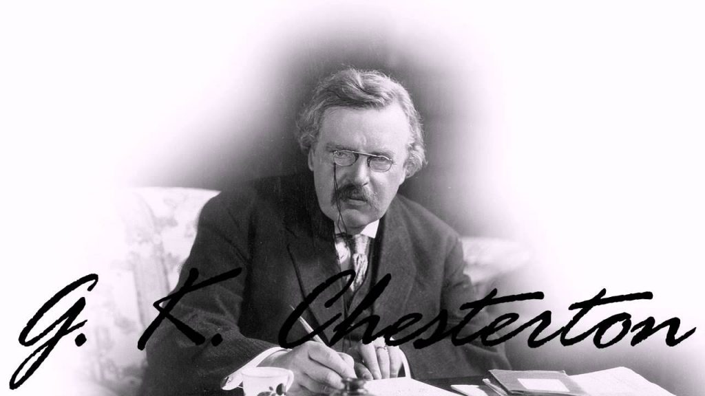 Chesterton - ¿Por qué me convertí al catolicismo? 1