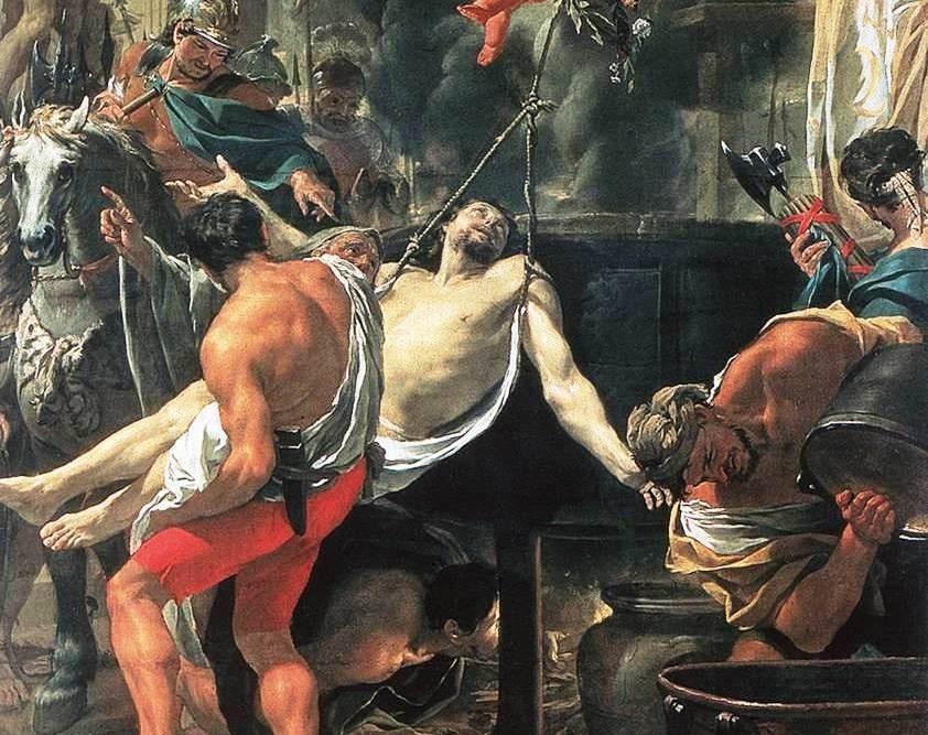 """San Juan """"Ante Portam Latinam"""", el martirio del apóstol San Juan - 6 de mayo 1"""