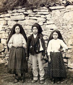 Los pastorcillos de Fátima en Aljustrel