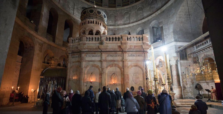 Tierra Santa - Acuerdo para comenzar la segunda etapa de restauración del Santo Sepulcro 1