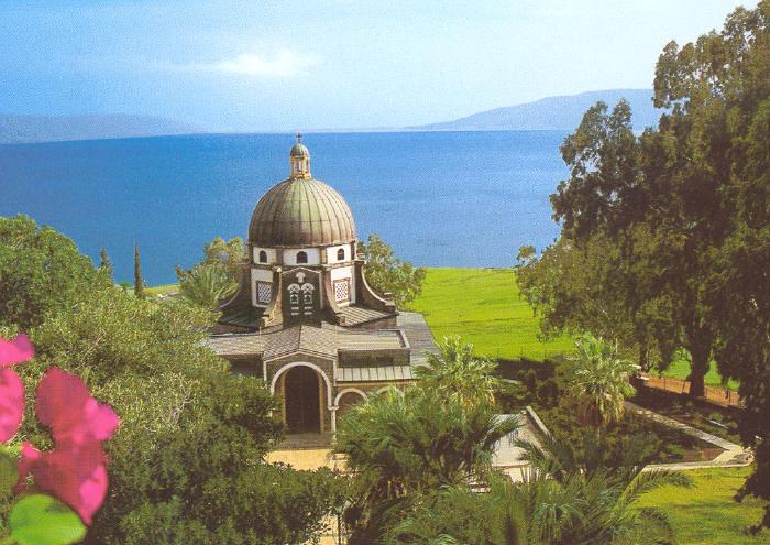 Monte de las Bienaventuranzas - Mar de Galilea 1