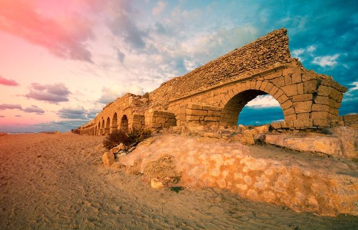 Cesarea Maritima, antigua ciudad gobernada por Herodes - Nuevo centro para visitantes 1