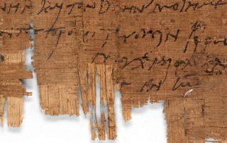 Identifican el manuscrito cristiano más antiguo del mundo 7