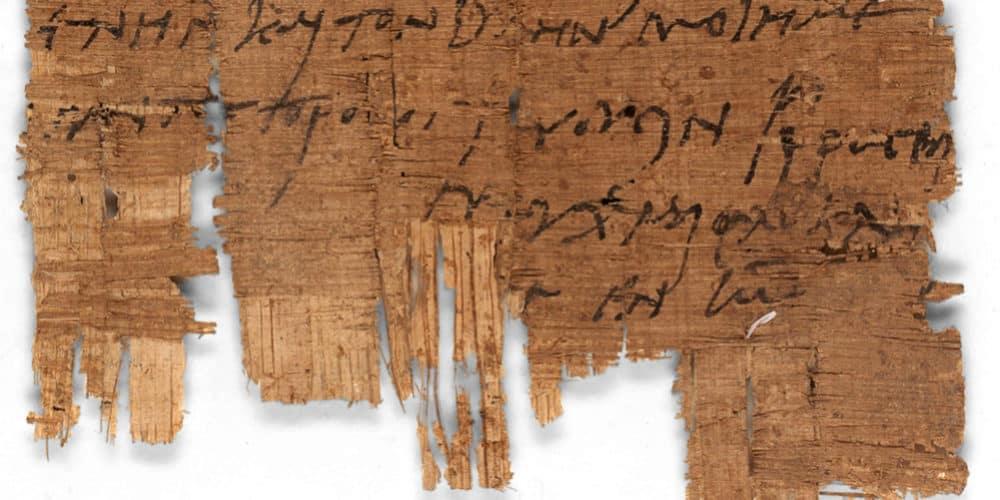 Identifican el manuscrito cristiano más antiguo del mundo 1