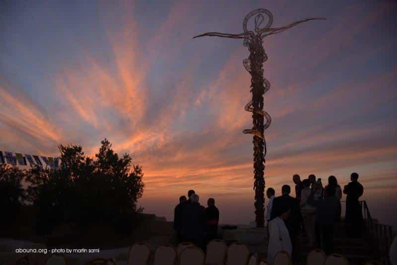 Monte Nebo, Jordania - Dos nuevos espacios celebrativos 1