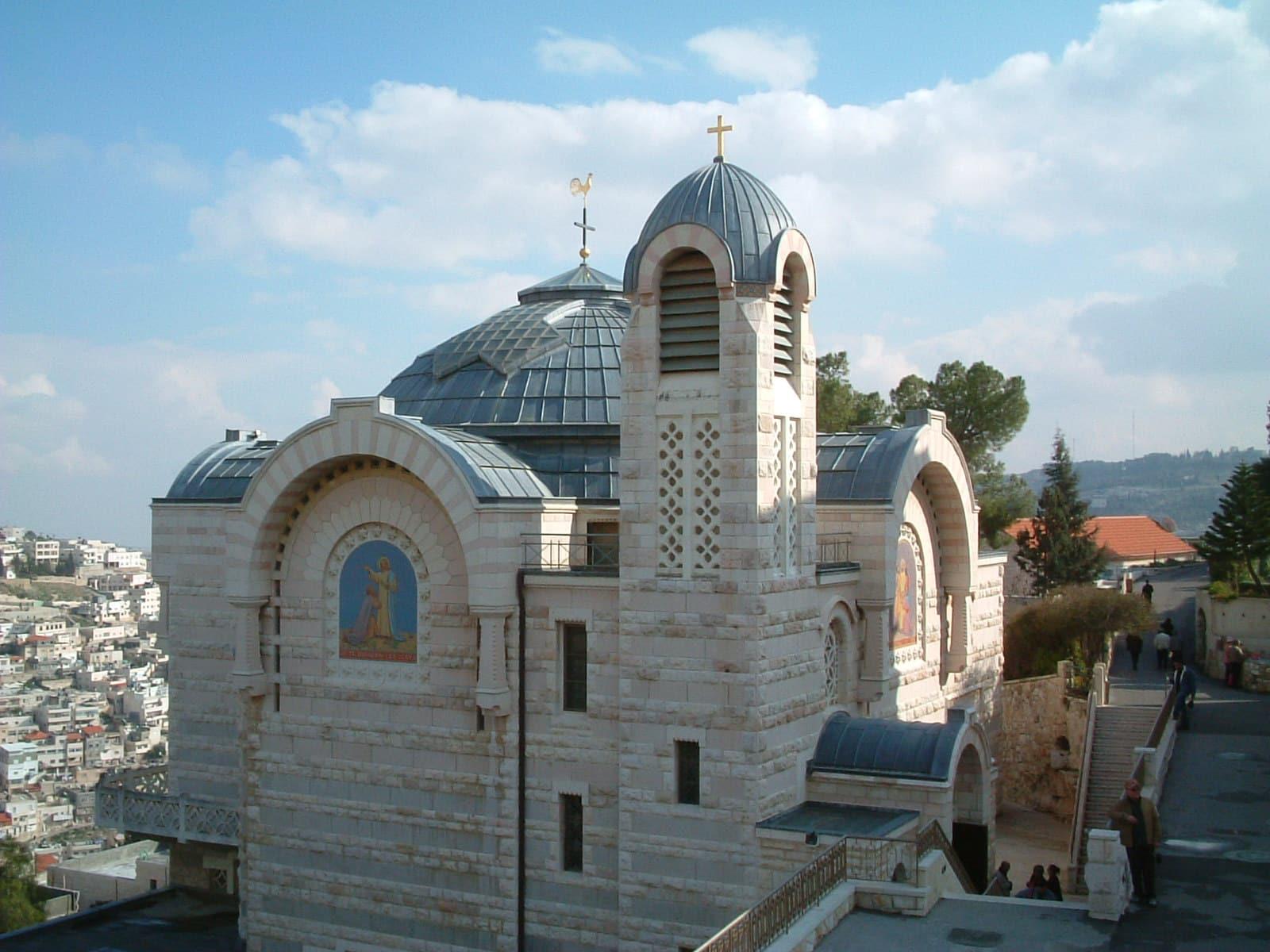 Jerusalén - Iglesia de San Pedro en Gallicantu 1