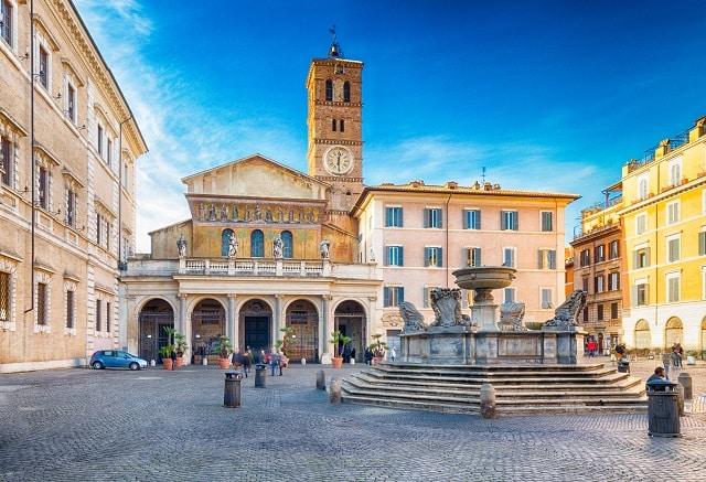 Santa Maria in Trastevere - Una de las más antiguas basílicas en Roma 1
