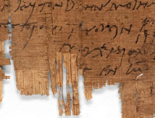 Identifican el manuscrito cristiano más antiguo del mundo