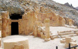 Vestigios cristianos en Jordania - El monasterio bizantino de San Lot 1