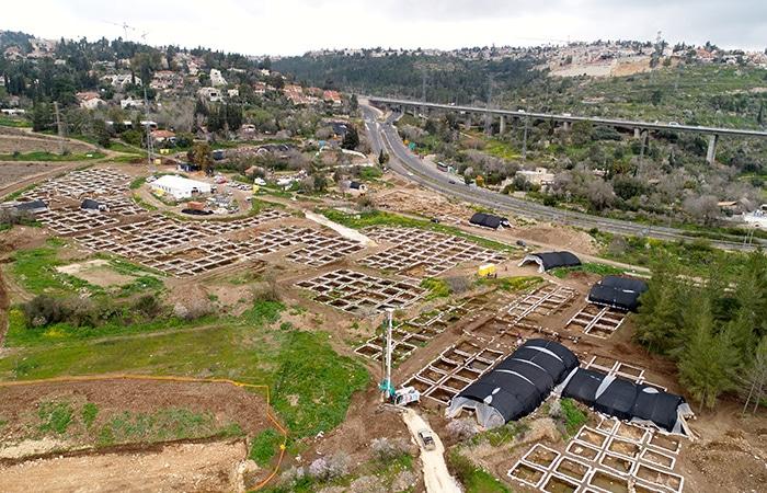 Una ciudad neolítica en las afueras de Jerusalén 1