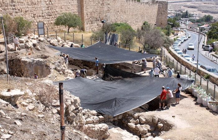 Jerusalén - Encuentran restos del asedio babilonio en el Monte Sion 1