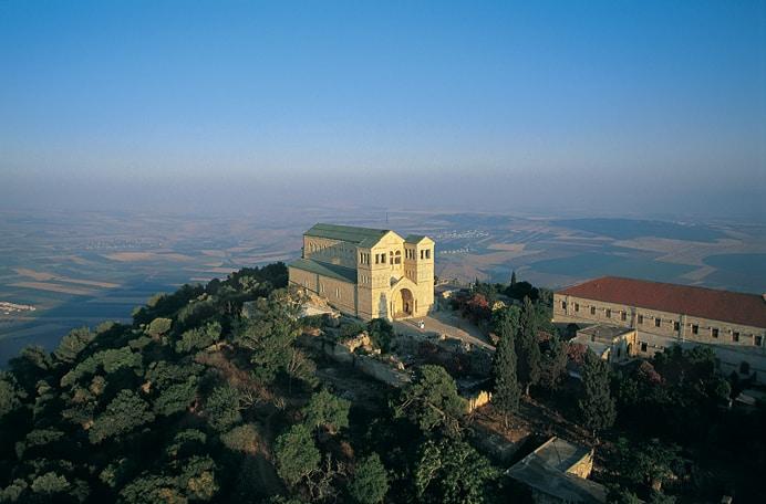 Monte Tabor - La basílica de la Transfiguración 7