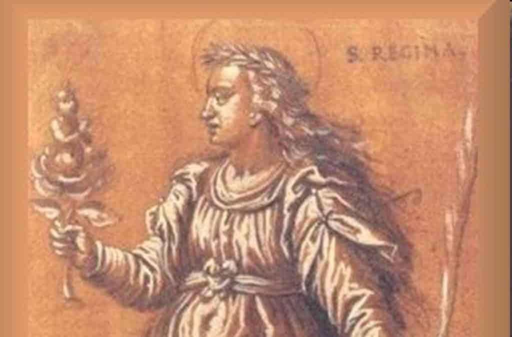Santa Regina, joven romana que se convirtió con quince años - 7 de septiembre 1
