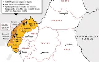 Crisis en el oeste de Camerún: 200 civiles asesinados y 20.000 desplazados 1