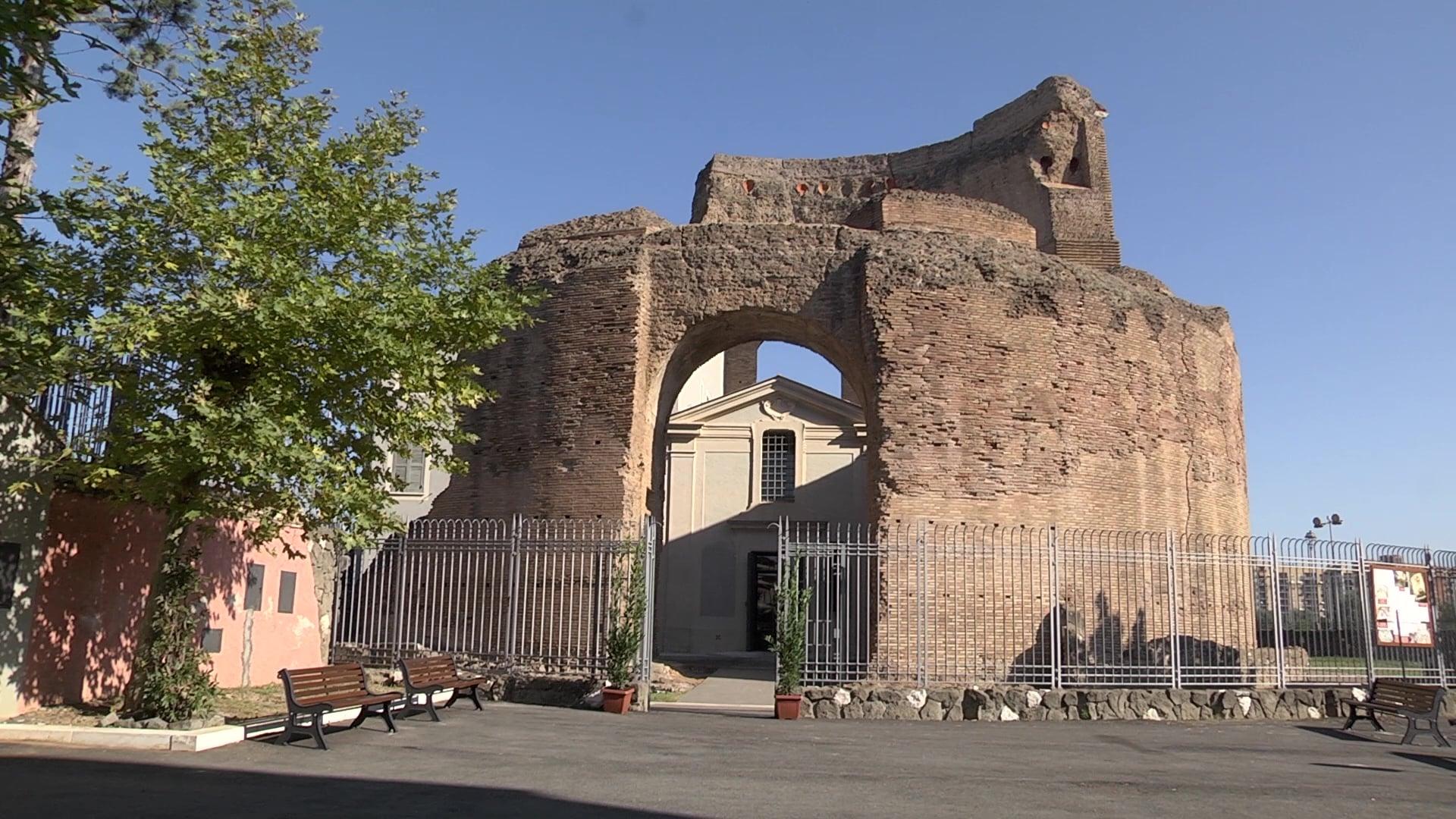 Reabren complejo de catacumbas donde está el antiguo mausoleo de santa Elena 1