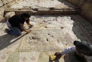 "Arqueólogos descubren una antigua iglesiaI dedicada al ""Glorioso Mártir"" - cerca de Jerusalén 5"