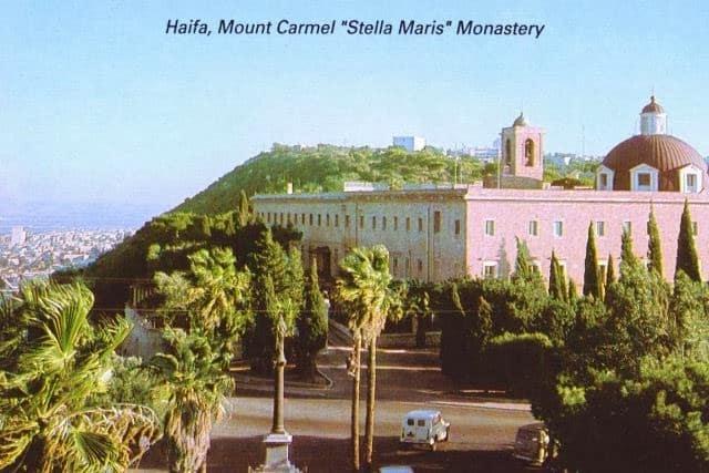 Monte Carmelo - Santuario de Stella Maris (en Haifa) 1