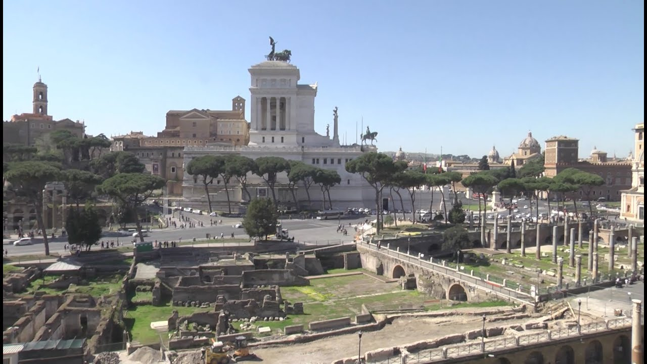 Un espectacular recorrido interactivo muestra aspecto de los foros romanos de hace 2000 años 1