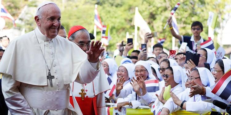Los 8 mensajes del Papa Francisco en Tailandia 1