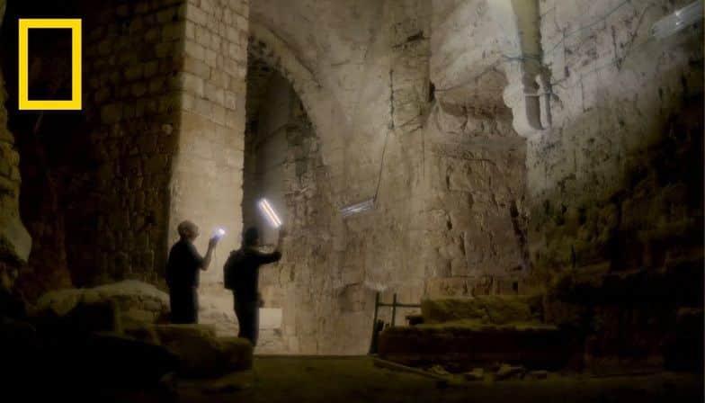 National Geographic emite un documental sobre los túneles subterráneos de los templarios en Acre ocultos durante siete siglos 1