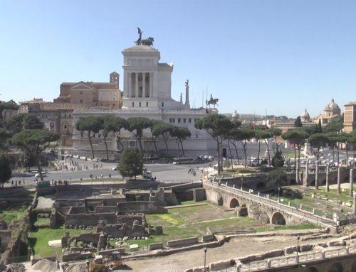 Un espectacular recorrido interactivo muestra aspecto de los foros romanos de hace 2000 años