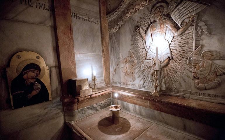 Santo Sepulcro de Jerusalén - Segunda fase de la restauración 1