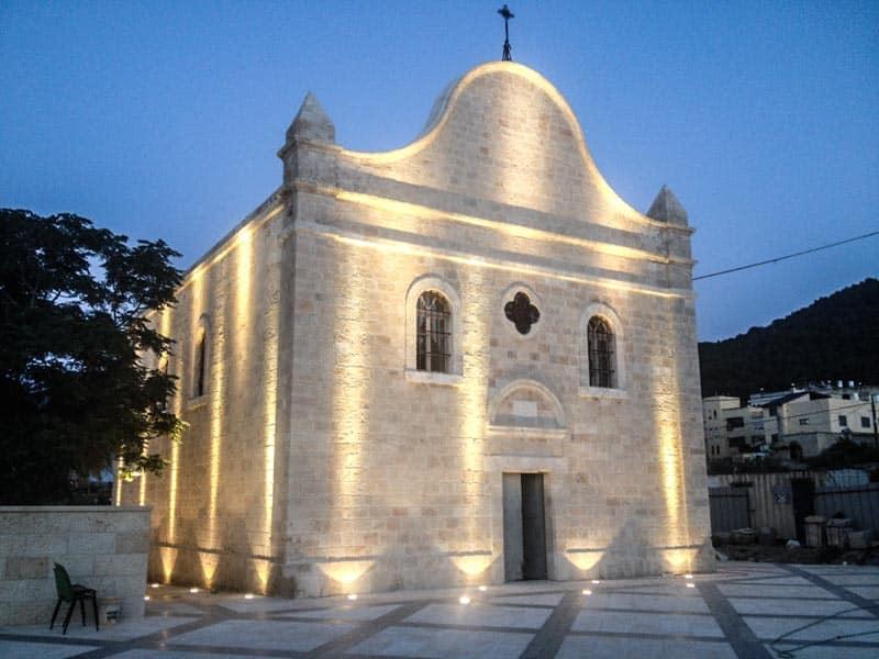 Reabren en Tierra Santa la Iglesia de Naín - Donde Jesús resucitó al hijo de una viuda 1