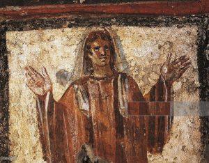 oración primeros cristianos