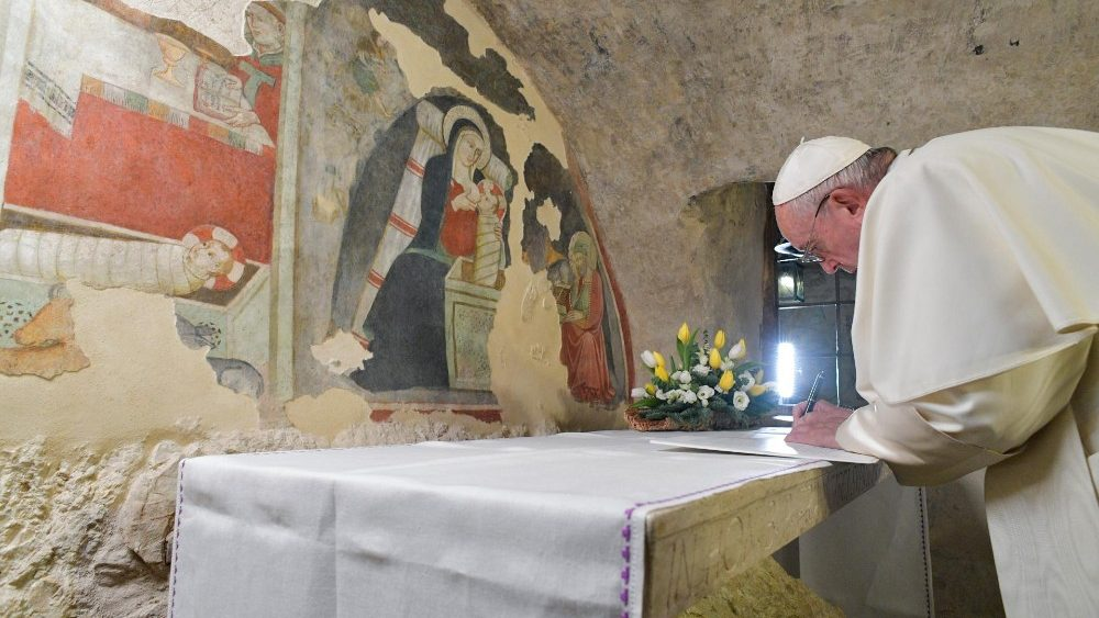 """""""En el Pesebre se manifiesta el misterio de la fe"""" - Carta del Papa sobre el significado del Pesebre 1"""