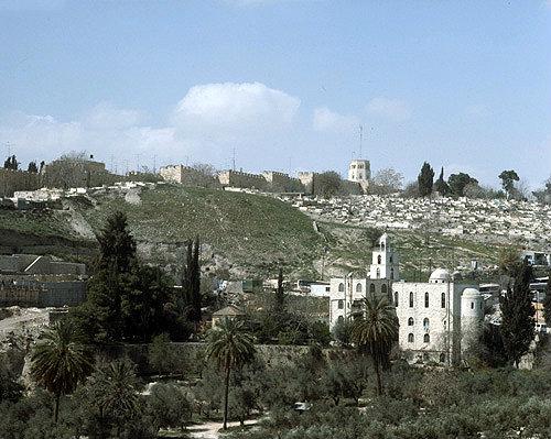El lugar del martirio de San Esteban - Jerusalén 1