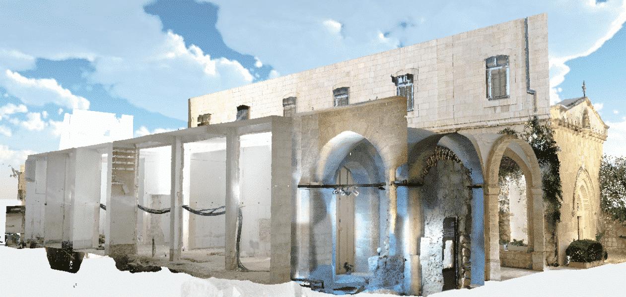 Terra Sancta Museum, Jerusalén - Obras en la sección arqueológica 1