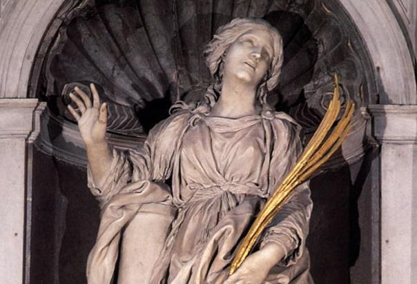 Santa Bibiana de Roma - 2 de diciembre 1