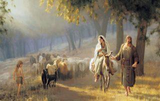 La Virgen y San José en el Camino de Belén 4