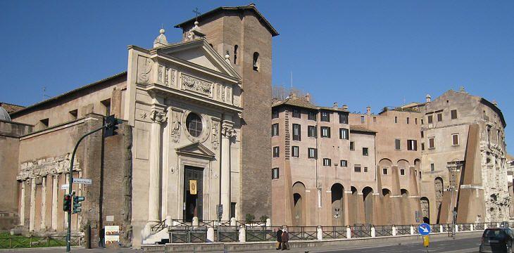 La Iglesia de San Nicolás - Tesoros de Roma 1