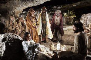 La adoración de los Reyes Magos en Belén - 6 de enero 2