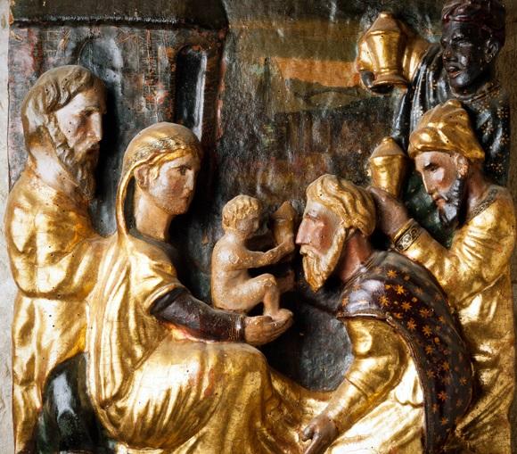 La adoración de los Reyes Magos en Belén - 6 de enero 1