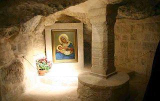 La Gruta de la Leche en Belén - La Custodia muestra ahora las «fuentes históricas» 1
