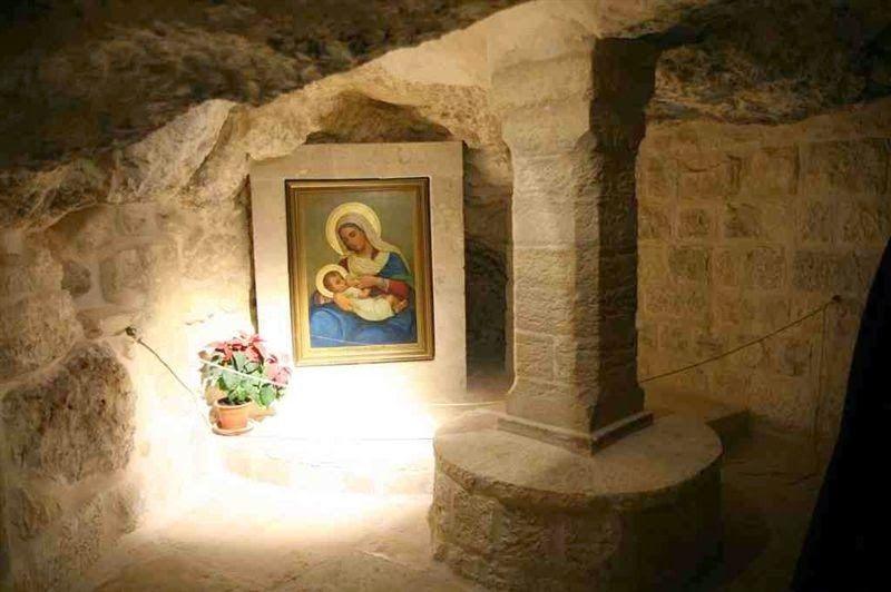 La Gruta de la Leche en Belén - La Custodia muestra ahora las «fuentes históricas» 2