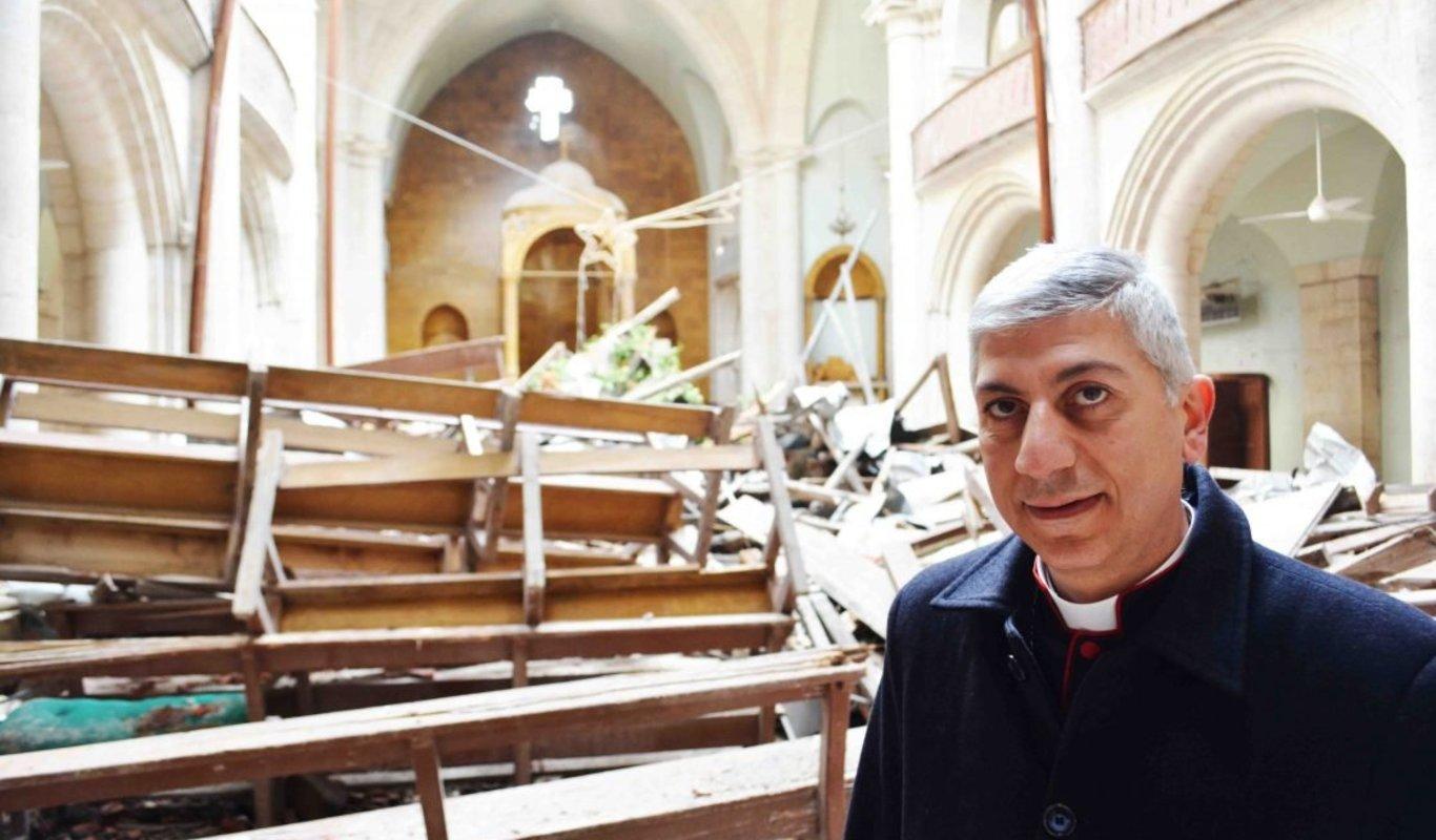 "«Nunca hubiéramos pensado que nos iba a suceder algo semejante"" - Obispo de Alepo 1"